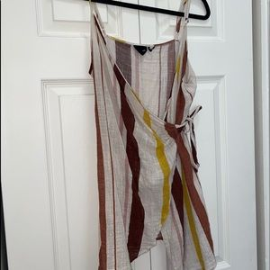 Urban outfitters tie summer dress